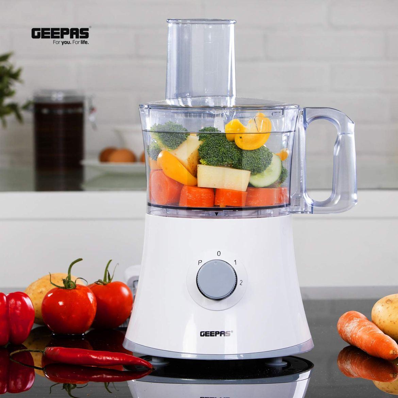 GEEPAS 10 IN 1 Food Processor [GSB5487-500W]: Buy Online at Best Price in  KSA - Souq is now Amazon.sa