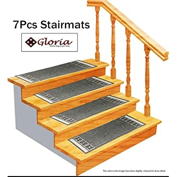 Stair Treads Carpet Rubber Backing – Stair Runners For Steps | Stair Treads And Runners | Non Slip | Mat | Treads Carpet | Bullnose Carpet Runners | Staircase