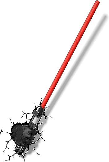 Star Wars Lámpara 3D, Multicolor