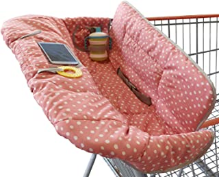 Shopping Cart Cover for Baby or Toddler | 2-in-1 High Chair Cover | Universal Fit |..