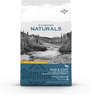 Diamond Naturals Skin & Coat Real Salmon and Potato Recipe Dry Dog Food with Protein,..