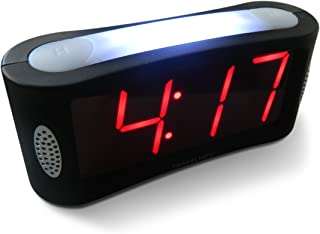 Travelwey Home LED Digital Alarm Clock – Outlet Powered, No Frills Simple..