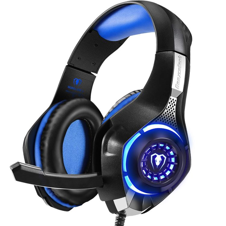 Beexcellent GM-1 Gaming Headset for PS4, PS4 Pro, PlayStation 5, Xbox One & Xbox Series X S, Nintendo Switch, Mac and Mobile