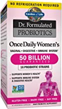 Garden of Life Dr. Formulated Probiotics for Women, Once Daily Women's Probiotics, 50..