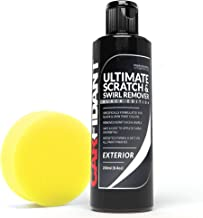 Carfidant Black Car Scratch Remover – Ultimate Scratch and Swirl Remover for Black..