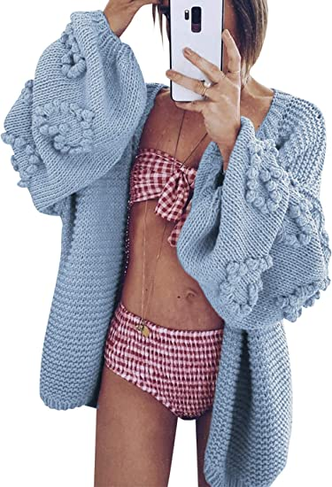 baby blue cardigan with details