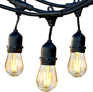 Brightech Ambience Pro – Waterproof LED Outdoor String Lights – Hanging,..