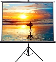"""VIVO 100"""" Portable Indoor Outdoor Projector Screen, 100 Inch Diagonal Projection HD.."""