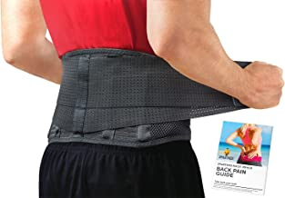 Back Brace by Sparthos – Immediate Relief for Back Pain, Herniated Disc, Sciatica,..