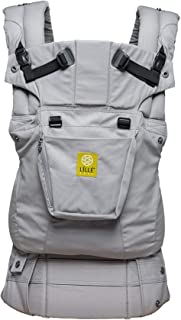 LÍLLÉbaby Complete Original 6-in-1 Ergonomic Baby and Child Carrier, Stone – 100% Cotton