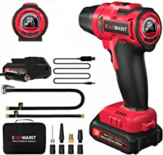 ICARMAINT Tire Inflator Air Compressor, Portable Car Air Pump with Digital Pressure..