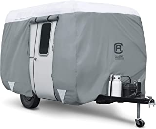 Classic Accessories Over Drive PolyPRO3 Molded Fiberglass Travel Trailer Cover, Fits..