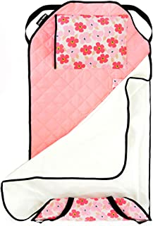 Urban Infant Tot Cot All-in-One Modern Preschool/Daycare Nap Mat with Washable Pillow and..