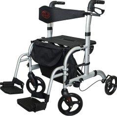 Andador-silla de ruedas marca Antar. Modelo AT51005.