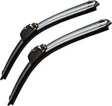 "MOTIUM OEM QUALITY 26"" + 16"" Premium All-Season Windshield Wiper Blades (Set of 2)"