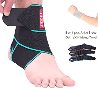 Ankle Support,Adjustable Ankle Brace Breathable Nylon Material Super Elastic and..