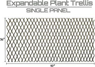 Expandable Garden Trellis Plant Support Willow Lattice Fence Panel for Climbing Plants..