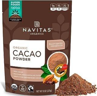 Sponsored Ad - Navitas Organics Cacao Powder, 8oz. Bag, 15 Servings — Organic, Non-GMO, Fair Trade, Gluten-Free