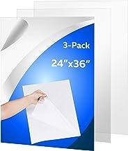 "Sponsored Ad - (3 Pack) PET Sheet Panels - 24"" x 36"" x 0.03"" Plexiglass-Quality Lightweight and Shatterproof Glass Alterna..."