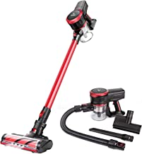 MOOSOO Cordless Vacuum Cleaner 23Kpa Strong Suction 2 in 1 Stick Vacuum Ultra-Quiet..