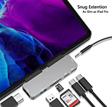 USB C Hub for iPad Pro,7-in-1 Adapter for iPad Pro 2018 2020 12.9/11 inch,with..