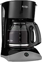 Mr. Coffee 12-Cup Coffee Maker, Black