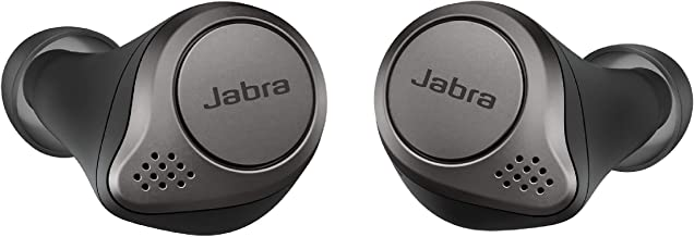 Jabra Elite 75t Earbuds – True Wireless Earbuds with Charging Case, Titanium Black –..