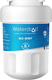 Waterdrop MWF Refrigerator Water filter, Replacement for GE Smart Water MWF, MWFINT,..