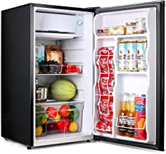 TACKLIFE Compact Refrigerator, 3.2 Cu Ft Mini Fridge with Freezer, Energy Star Rating,..