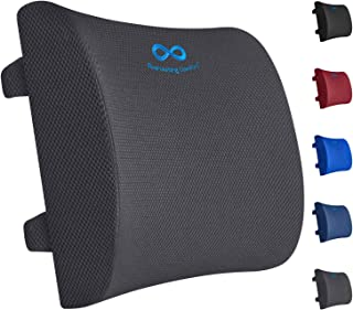 Everlasting Comfort Lumbar Support Pillow for Office Chair – Pure Memory Foam..
