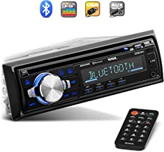 Sound Storm Laboratories SDC26B Car Stereo – Single Din, Bluetooth Audio and..