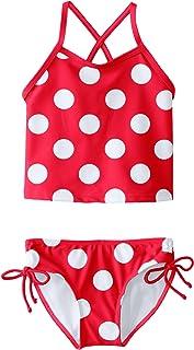Girls' Melanie Beach Sport 2-pc Banded Tankini Swimsuit