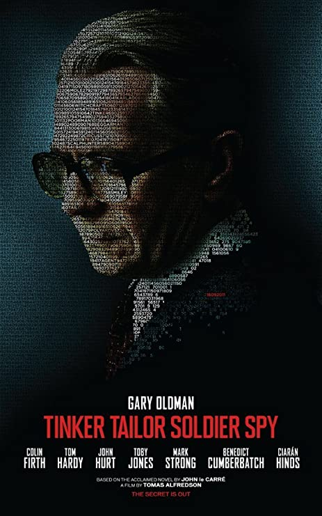 Amazon.com: Tinker Tailor Soldier Spy Movie Poster 24Inx36In #01: Prints:  Posters & Prints