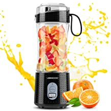 Portable Blender, UBEGOOD Personal Size Blenders Moothies and Shakes, USB Rchargeable..