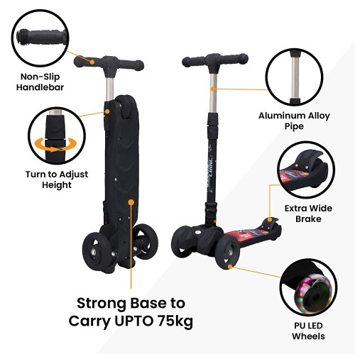 R ofr rabbit kick scooter for kids design view