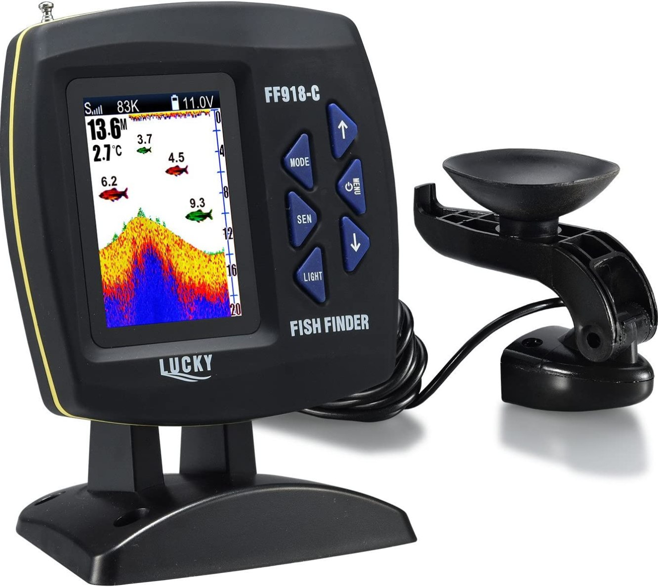Lucky Color Screen Boat Fish Finder review