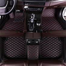 Muchkey Car Floor Mats for Honda Accord 2018(with air Outlet) Luxury Leather Waterproof..