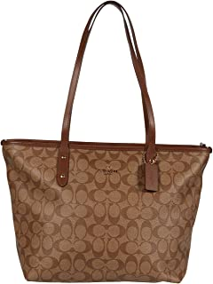 COACH Signature Messico City Zip Tote