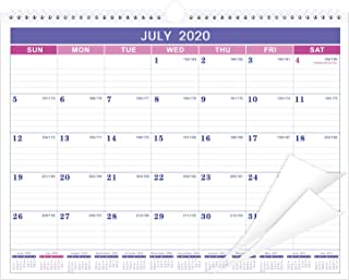 """2020-2021 Calendar – 18 Monthly Wall Calendar with Thick Paper, 15"""" x.."""