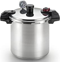 T-fal Pressure Cooker, Pressure Canner with Pressure Control, 3 PSI Settings, 22 Quart,..