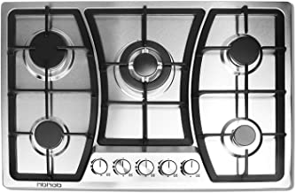 30 inches Gas Cooktop 5 Burners Gas Stove gas hob stovetop Stainless Steel Cooktop 5..