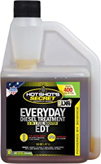 Hot Shot's Secret Everyday Diesel Treatment – EDT 16 oz Squeeze – Treats..