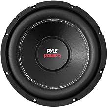 Pyle Car Subwoofer Audio Speaker – 8in Non-Pressed Paper Cone, Black Steel Basket,..