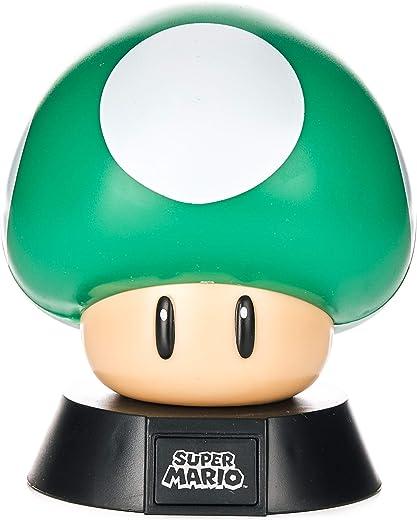 Paladone 1Up - Figura decorativa de seta con licencia oficial de Nintendo coleccionable   Ideal para dormitorios de niños, oficina y hogar   Pop Culture Gaming Merchandising, 1 W, color verde
