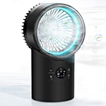 Portable Air Conditioner Fan, KUUOTE Mini Evaporative Cooler with 7 Colors Night Light,..