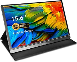 Portable Monitor – Lepow 15.6 Inch Computer Display 1920×1080 Full HD IPS Screen..