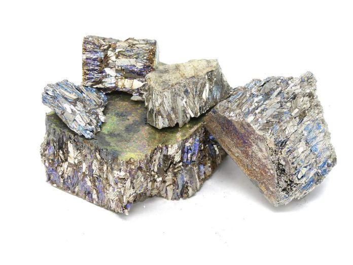Bismuth Chunk (2 pounds | 99.99+% Pure) Raw Bismuth Metal | Great for Crystal Making by MS MetalShipper: Amazon.com: Industrial & Scientific