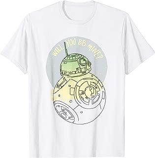 Star Wars BB-8 Will You BB Mine Valentine's Day T-Shirt