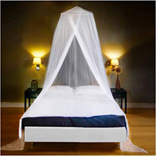 EVEN NATURALS Luxury Mosquito Net Bed Canopy, Large: for Single to Queen Size, Quick Easy..