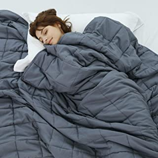 Weighted Idea Cool Weighted Blanket Twin Size 15 Pounds, for Adults..